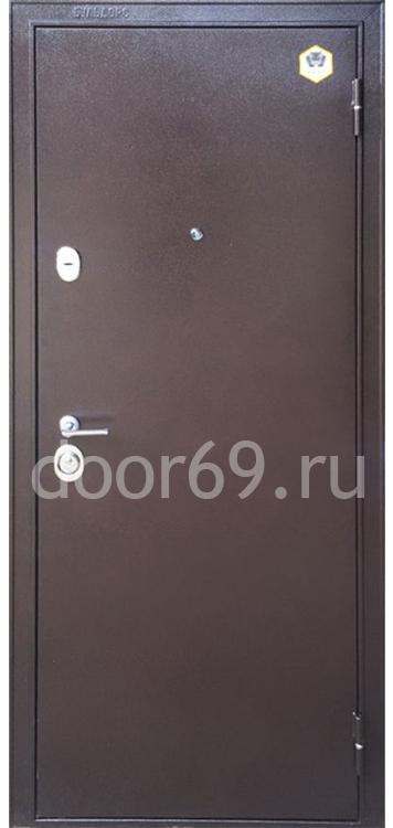 Бульдорс 24 Медь / МДФ Дуб шоколад F-3