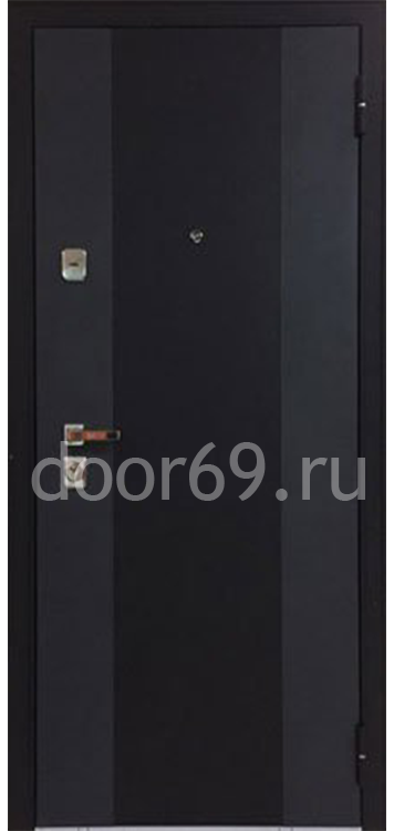 Бульдорс 44 T Черный шелк K-2