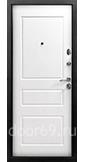 Снедо Гранд 2К Винорит Венге / Белый матовый RAL 9003