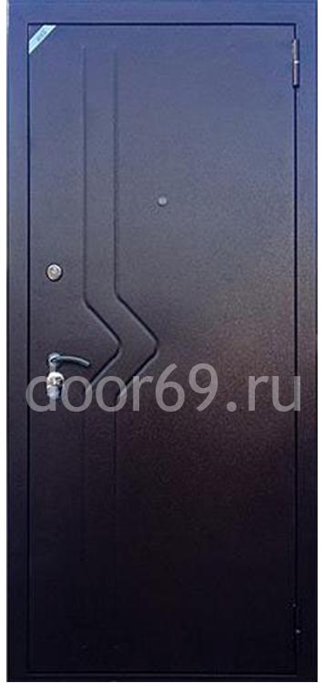 Зетта Комфорт 2Д1 Медь Слалом / Беленный венге Бастион