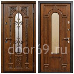 Металлические двери фотография