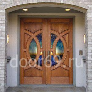 элитные входные двери в дом в Твери фотография