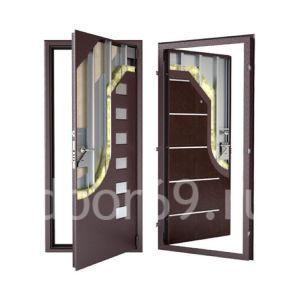 утепленные двери в Твери фотография